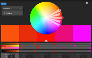 Adobe Color CC wheel